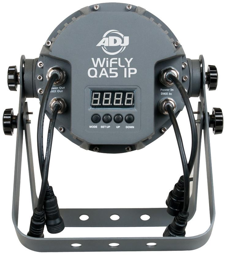 ADJ WiFLY QA5 IP 5x 5W LED PAR with WiFLY Transmitter WIFLY-QA5-IP