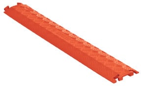 "36"" 1 Channel Fastlane Lightweight Drop-Over Cable Protector in Orange"