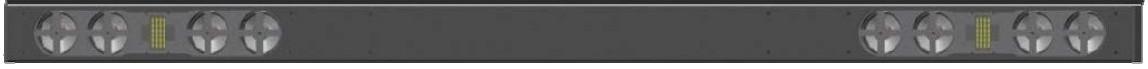 Flex Plus H2 Dual Channel Horizontal Speaker /Soundbar for Flat Screen TVs and Monitors