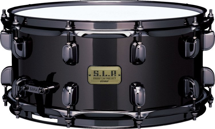 "6.5""x14"" S.L.P. Black Brass Snare Drum"
