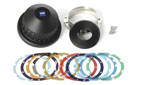 Interchangeable Lens Mount Set PL for CP.2 21mm/T2.9, 25mm/T2.1, 28mm/T2.1, and 35mm/T2.1
