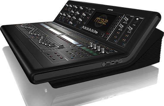 40 Channel Live / Studio Digital Mixer Console with 32 Midas Microphone Preamplifiers