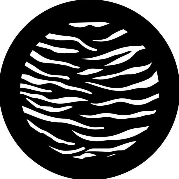 Tiger Print Pattern Gobo