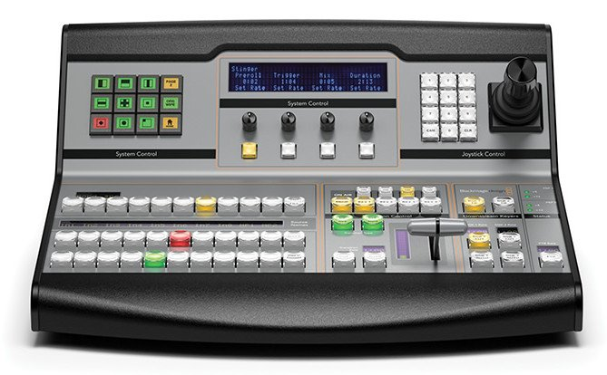 Professional Broadcast Hardware Control Panel