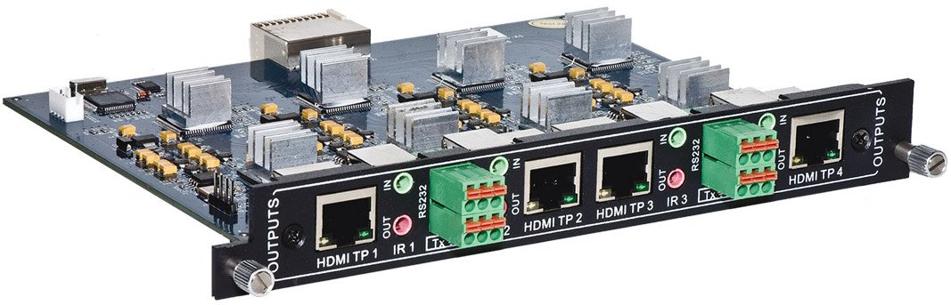 4-Port HDBaseT Output Card