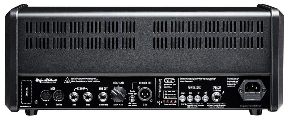 36W 4 Channel Tube Guitar Amplifier Head
