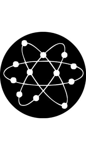 """Fusion""-Pattern Gobo"