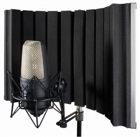 Foldable Stand-Mounted Acoustic Enclosure