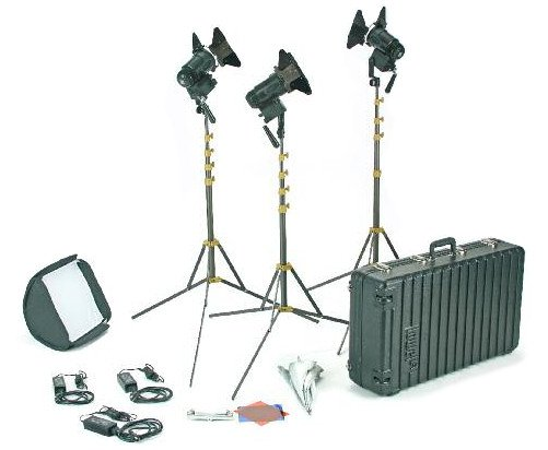 PRO Power LED 3 Light Tungsten AC Kit