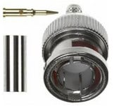 75 Ohm BNC STR Crimp Coaxial Plug