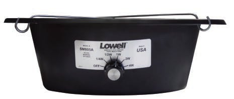 "Lowell SM805A 8"" 70V In-Ceiling Sound Masking Speaker Assembly SM805-A"