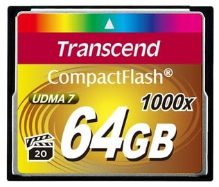 64 GB 1000x Ultimate Series Compact Flash Card