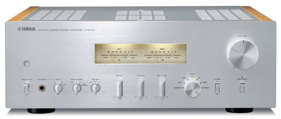 yamaha a s2100 hi fi integrated stereo amplifier 160 watts. Black Bedroom Furniture Sets. Home Design Ideas