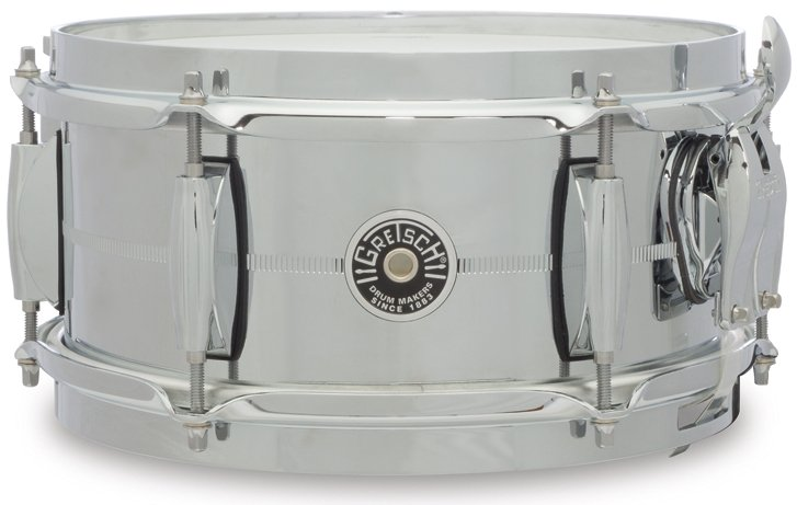 "5"" x 10"" Brooklyn Series Chrome Over Steel Snare Drum"