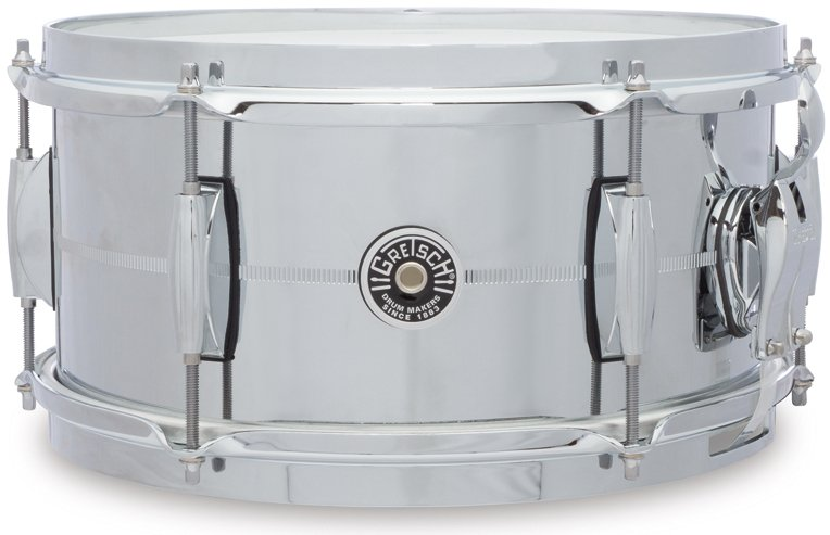 "6"" x 12"" Brooklyn Series Chrome Over Steel Snare Drum"