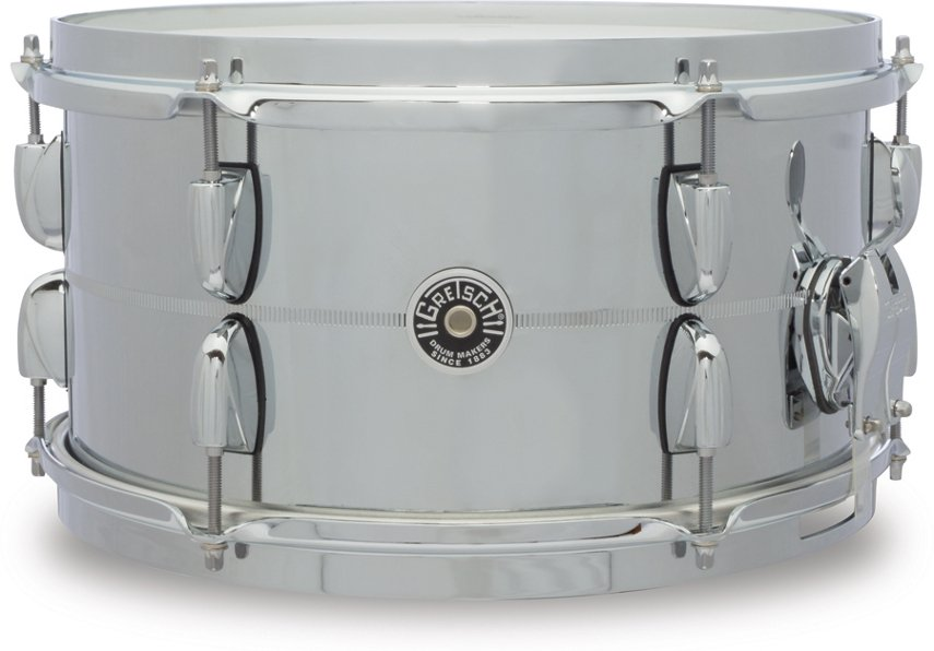 "7"" x 13"" Brooklyn Series Chrome Over Steel Snare Drum"