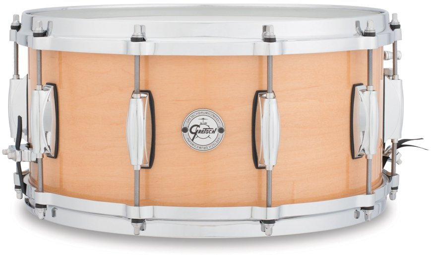 "6.5""x14"" Silver Series 10 Lug 10 Ply Maple Snare Drum"