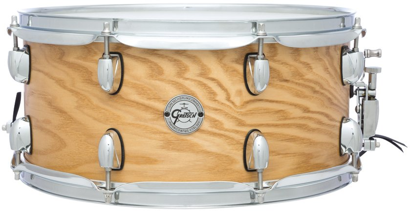 "6.5""x14"" Silver Series 7 Ply 8 Lug Ash Snare Drum"