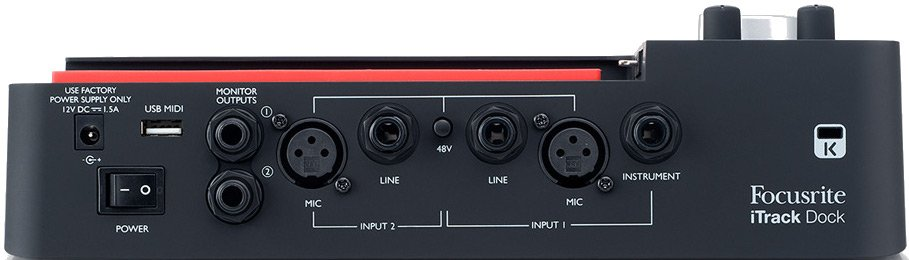 Focusrite iTrack Dock [EDUCATIONAL PRICING] Pro Recording Dock for iPad ITRACK-DOCK-EDU