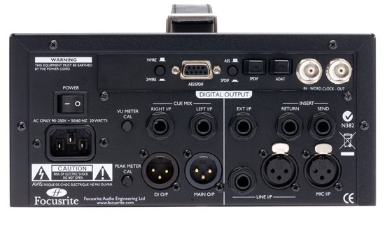 Single-Channel Microphone Preamplifier with Independent D.I.