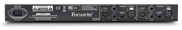 Dual-Mono 1RU Microphone Preamplifier
