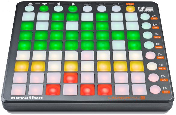 Hardware Controller for Ableton Live (Launchpad Ed. Included)