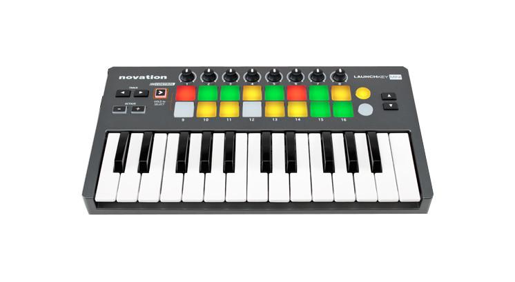 25-Key USB MIDI Controller