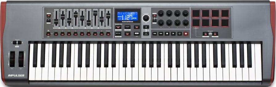 61-Key USB MIDI Controller Keyboard