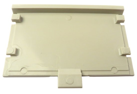 White Beltpack Battery Cover