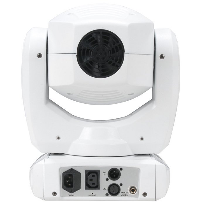 80W LED Moving Head Fixture in White