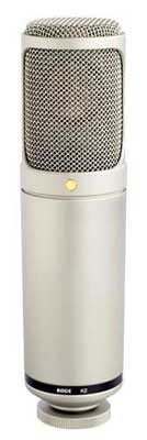 "Variable Pattern Dual 1"" Condenser Valve Microphone"