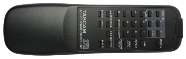 Teac 9A10629800 Remote Control for Tascam CD Player 9A10629800