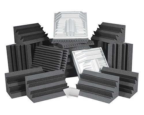 Auralex Roominators Pro Plus Complete Room Acoustic Treatment Kit in Charcoal Gray PROPLUSCHA/CHA