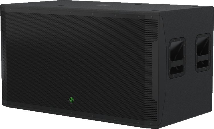 """1600W Peak Dual 18"""" Active Subwoofer with All-Wood Cabinet"""
