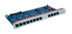 8 Channels of Analog XLR Line Outputs, 8 Channels of AES3 Digital XLR Outputs for Educational Institutions
