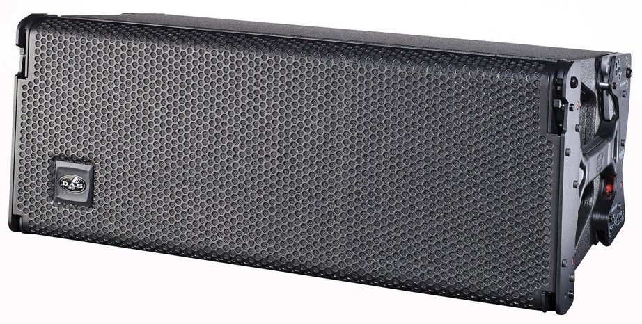 "3-Way Active Line Array Speaker with Dual 8"" Woofers"