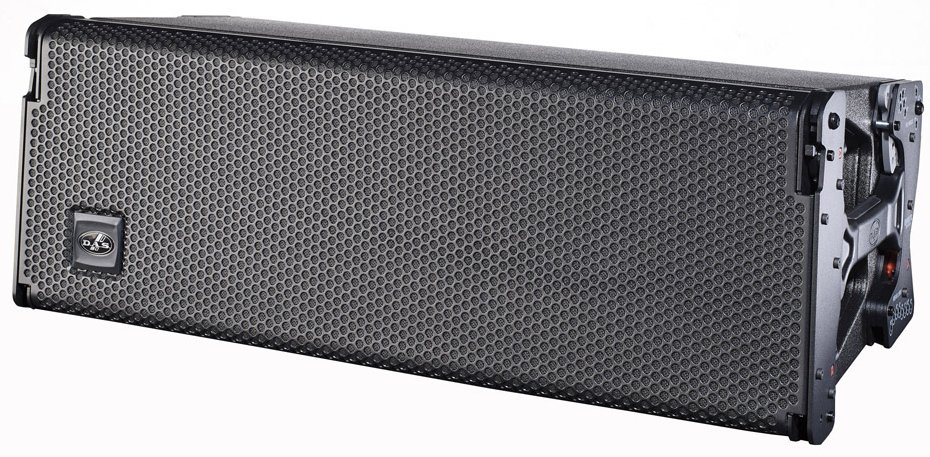 "3-Way Active Line Array Speaker with Dual 10"" Woofers"