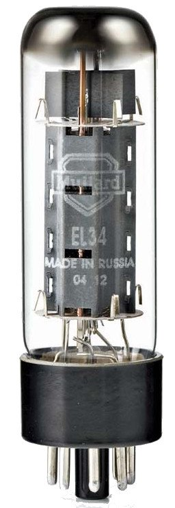 EL34 Power Vacuum Tube