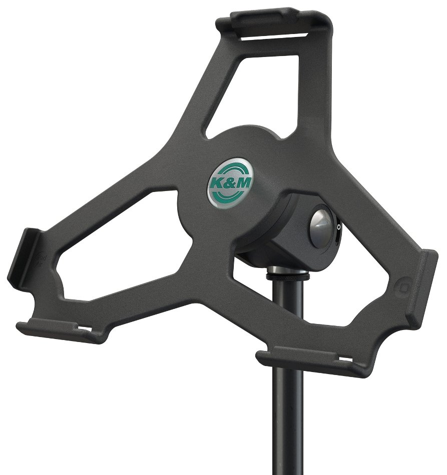 iPad Air Microphone Stand Mount in Black