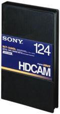 HDCAM Large Cassette, 124 Min.
