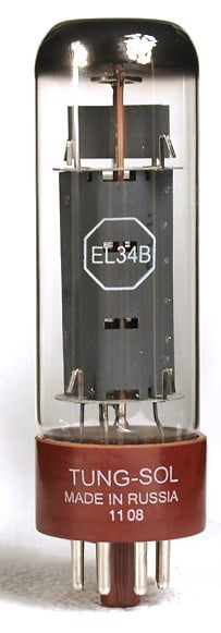 EL34B Power Vacuum Tube