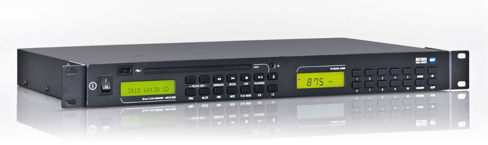 Dual Source Rackmount Multimedia Player