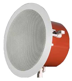 "6"" Ceiling Speaker with Fire Dome and 8 Ohm/100V Taps"