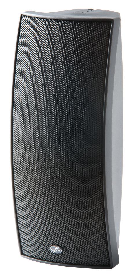 "Dual 4"" 400W Peak Installation Speaker with 70/100V Multitap Transformer"