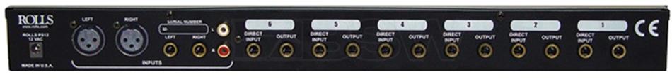 6-Channel Stereo Headphone Amplifier