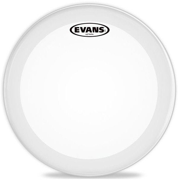 "22"" EQ3 2 Ply Frosted Batter Bass Drum Head"