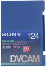 DVCAM Video Cassette, 124 Mins.