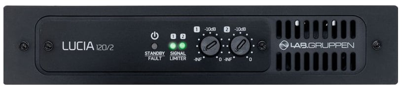 2 x 60W Commercial Amplifier with DSP