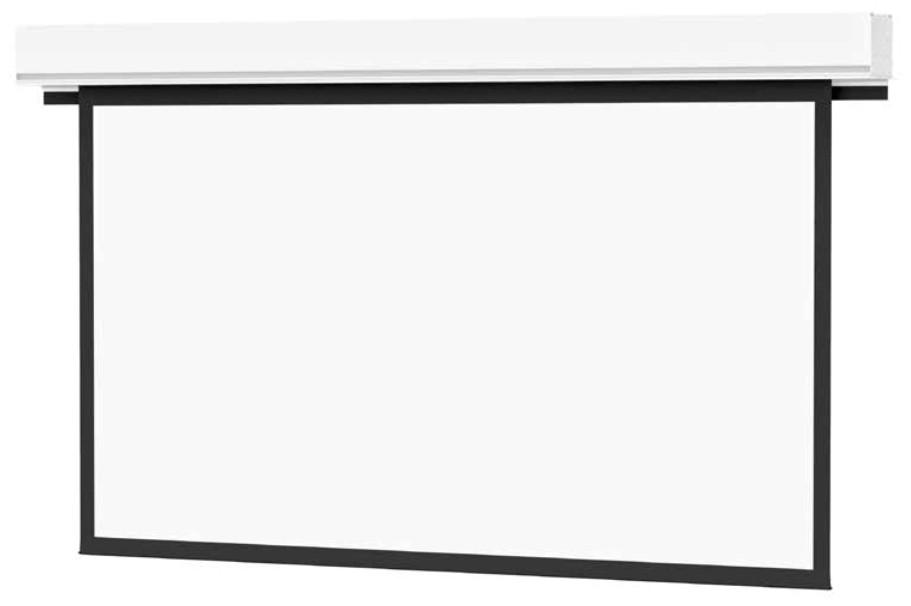 Advantage Deluxe Electrol 90x160, 184 in Diagonal Screen in Matte White