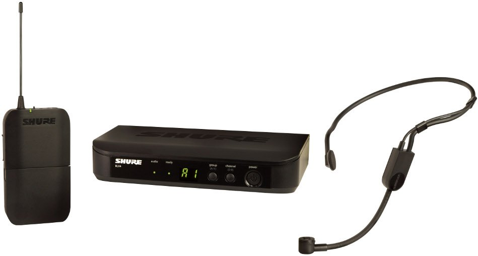 Wireless Headset System with PGA31 Microphone, 602-620 MHz